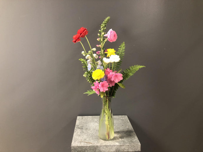 Spring Flower Arrangement - A Good Story Foods