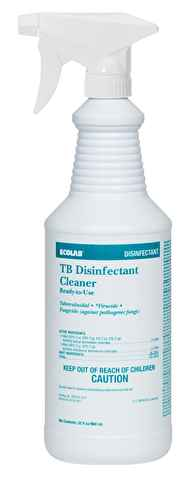 TB Disinfectant Cleaner - Spray Bottle Citrus Scent - A Good Story Foods