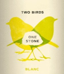 Two Birds One Stone Blanc 750ml - A Good Story Foods