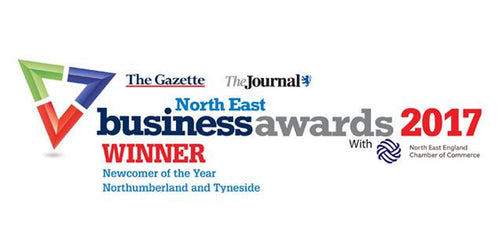Discover more - Great News... We won North East Newcomer of the Year!