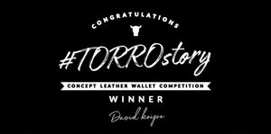 #TORROstory Winner - concept leather wallet
