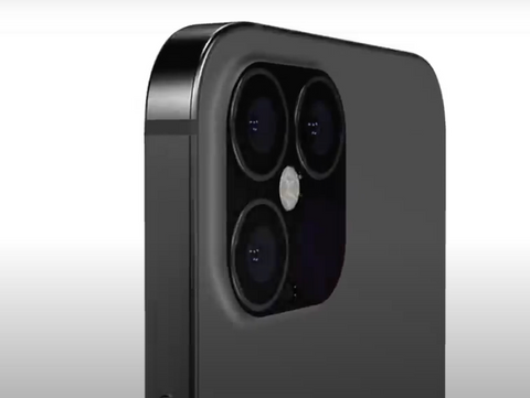 iPhone 12 Pro Camera assembly render