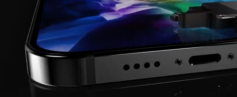 iPhone 12 speakers render