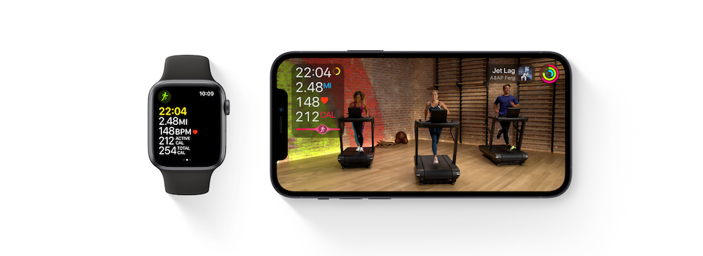 Apple Fitness+ Stats