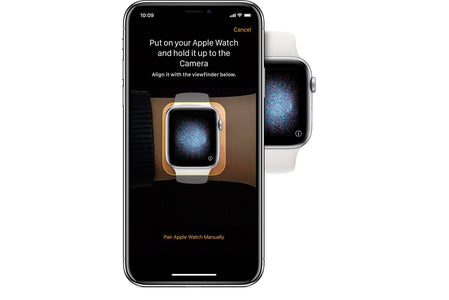 Setting up the Apple Watch with iPhone