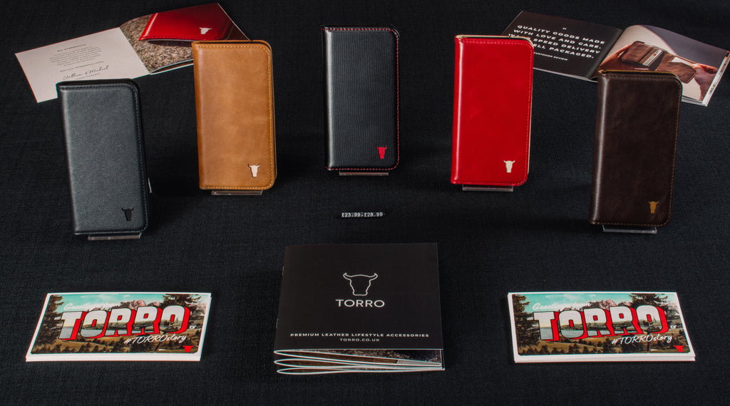 A showcase of TORRO leather products