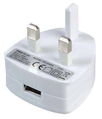 UK USB Charger Safety Info