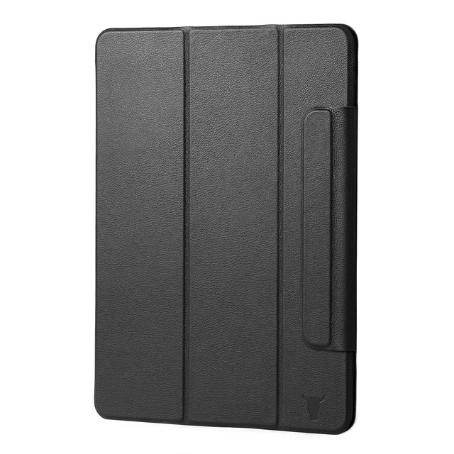 Black Leather Magnetic Case for iPad Pro 11-inch (3rd Gen, 2021)