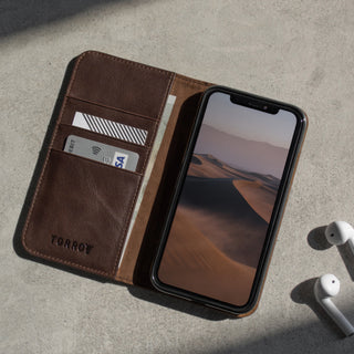 iPhone 11 Pro Max Leather Case - Dark Brown 6