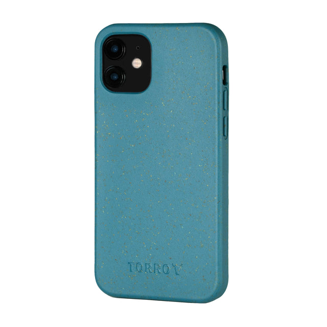 Green Back Bumper Case for iPhone 12 Mini