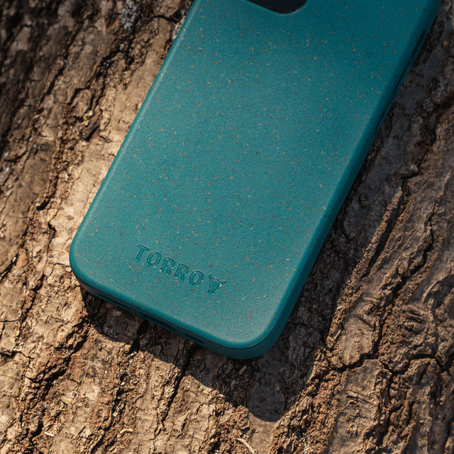 TORRO logo on the iPhone 12 Pro Back Bumper Case in Green