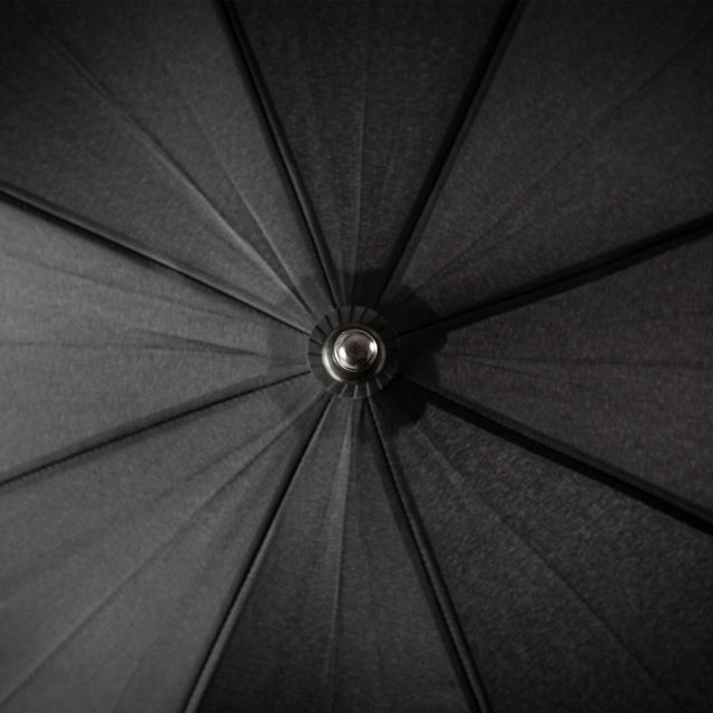 Top down view of the umbrella