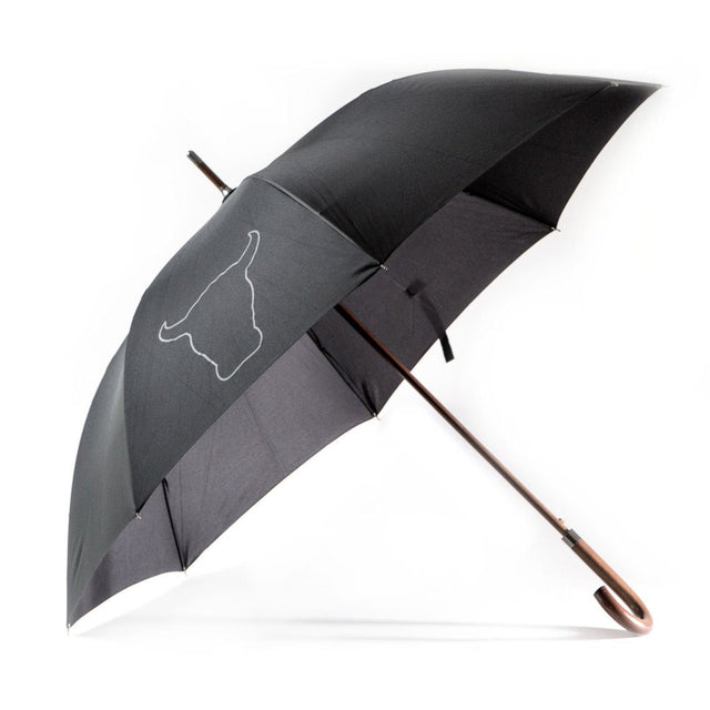 TORRO Black Auto Open Stick Umbrella