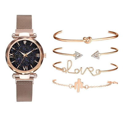 Five Piece Watch Set