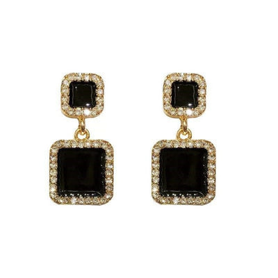 All Black Everything Earrings