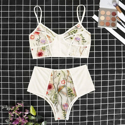 Floral Embroidery Set
