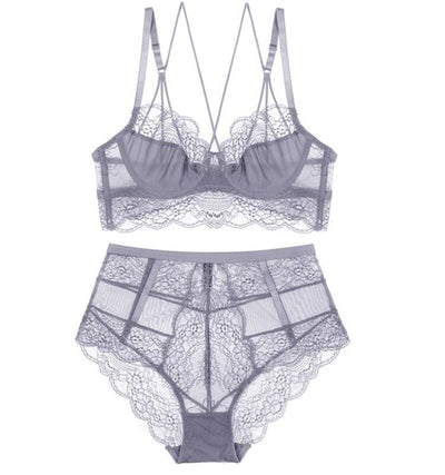 High-Waist Lingerie Set