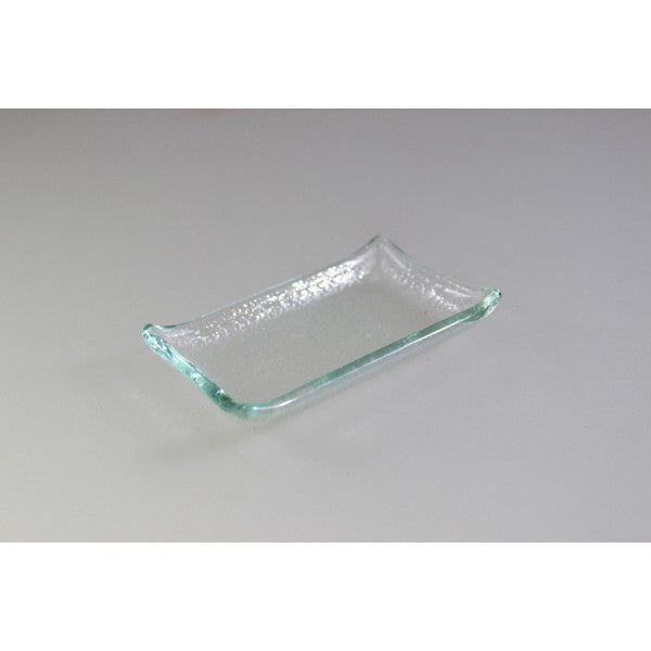 Canapé Tray - Rectangular Clear - 8 X 6Cm (6)