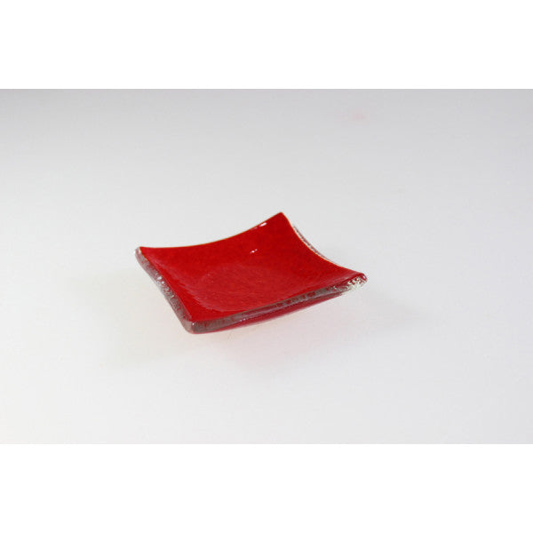 Canapé Tray Square Red - 7 X 7Cm (6)
