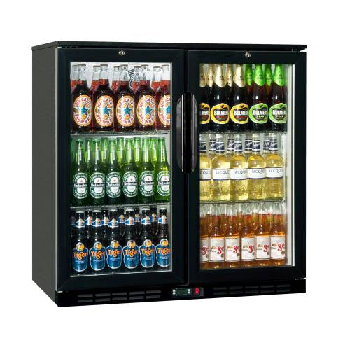 Back Bar Cooler Salvadore - Double Hinged Door