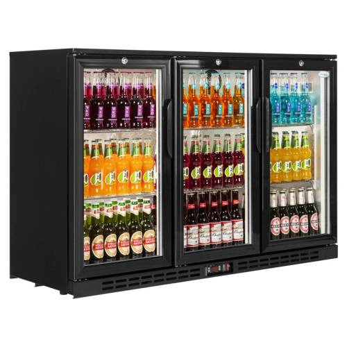 Back Bar Cooler Salvadore - Triple Hinged Door