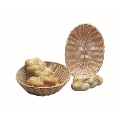 Bread Basket Woven Plastic Oval - 230 X 167Mm