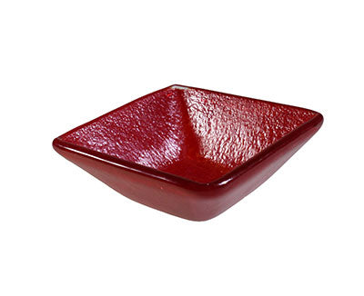 Salad Bowl Red 9 X 9Cm / 3.5Cm Deep (6)