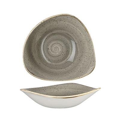 Peppercorn Grey - Triangle Bowl