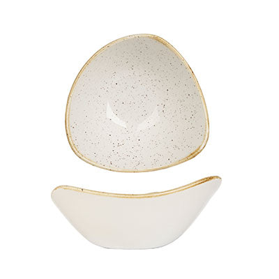 Barley White - Triangle Bowl - 15.3Cm