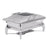 Chafing Dish Induction - Rectangular- Glass Lid 9Lt