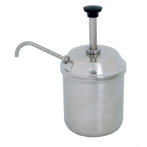 Condiment Server - Complete Jar And Pump