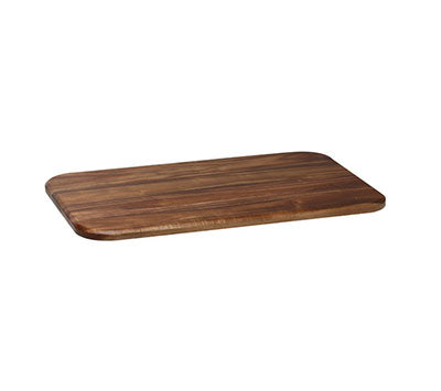 Domino Wooden Tray Gn1/1 Rectangular 527 X 321 X 28Mm