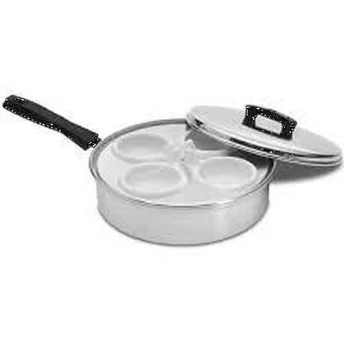 Egg Poacher Aluminium - 4 Cup