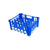 Glass Crate Large - 30 Glasses (Blue) 475 X 400 X 205Mm