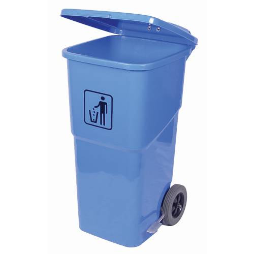 Foot Pedal Wheely Bin 120Lt (Blue)