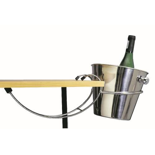 Ice Bucket Stand - Table Mounted S/Steel