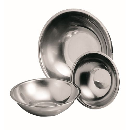 Mixing Bowl S/Steel Round - 240Mm (3Lt)