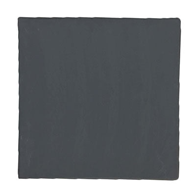 Black Slate Square Tray 25 X 25Cm