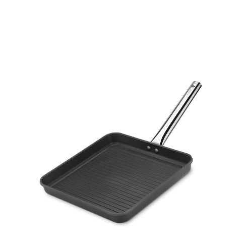 Grill Pan 'Black Series' Cast Alum - Induc 280 X 280Mm