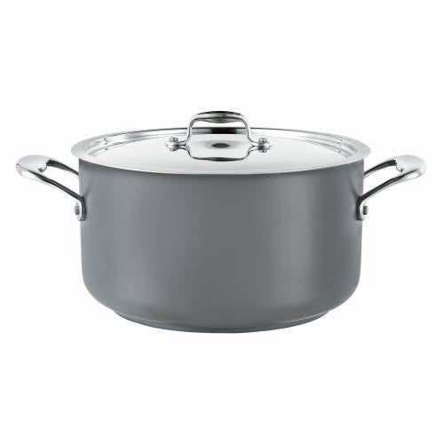 Pot (Grey) Casserole 14L W/Lid