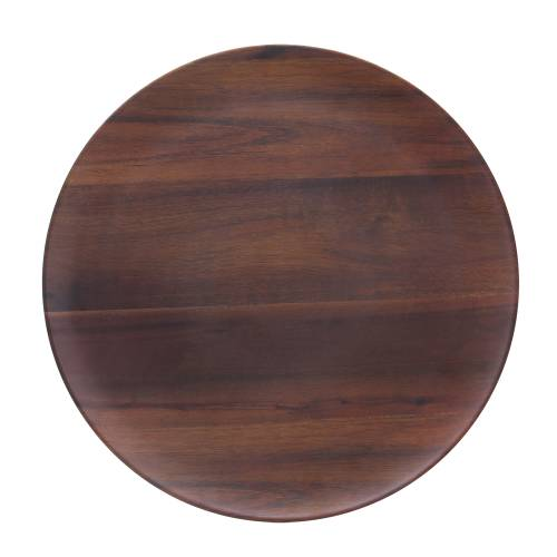 Platter Wood Grain - Round - 457Mm
