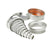 Round Cutter Set S/Steel- Plain 20 Piece