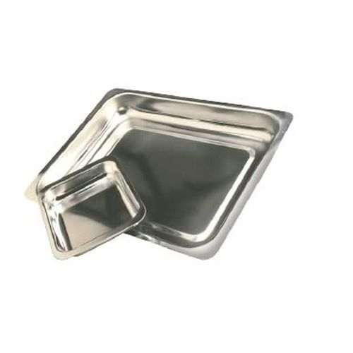 Steak & Kidney Dish S/Steel-Sk4 - 410 X 280 X 75 Mm(Deep)