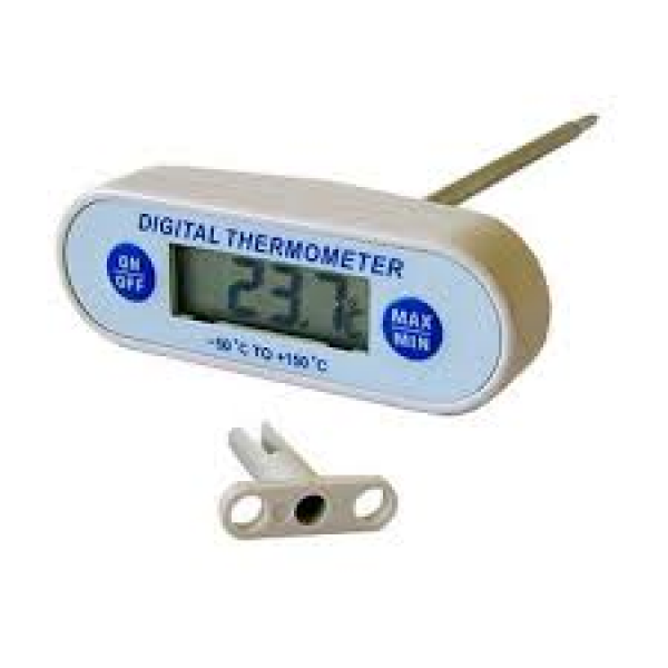 Thermometer Digital T-Bar (-50°C + 200°C) Strong Probe Thermometer