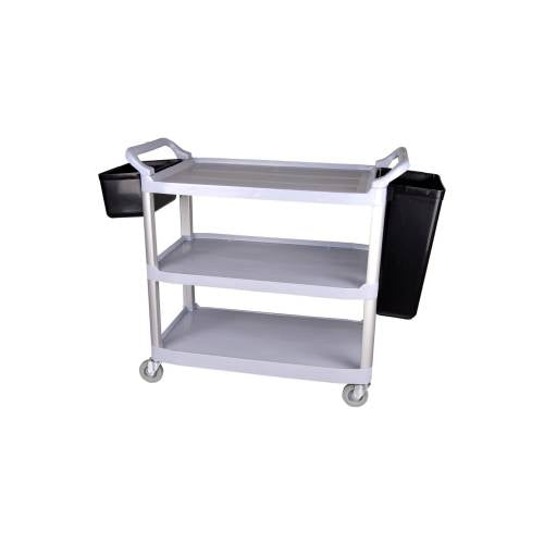 Tea Trolley Plastic - 3 Shelf - 1030 X 510 X 960Mm