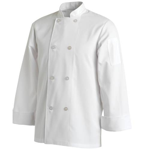 Chefs Uniform Jacket Basic Long - Small