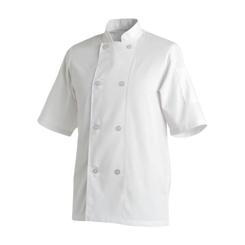 Chefs Uniform Jacket Basic Short - Small