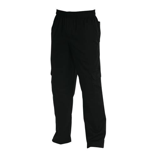 Chefs Uniform - Cargo'S Black - Xx Large