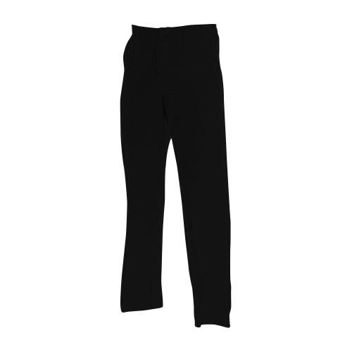Chef Uniform - Trousers Black Zip - Xxx Large