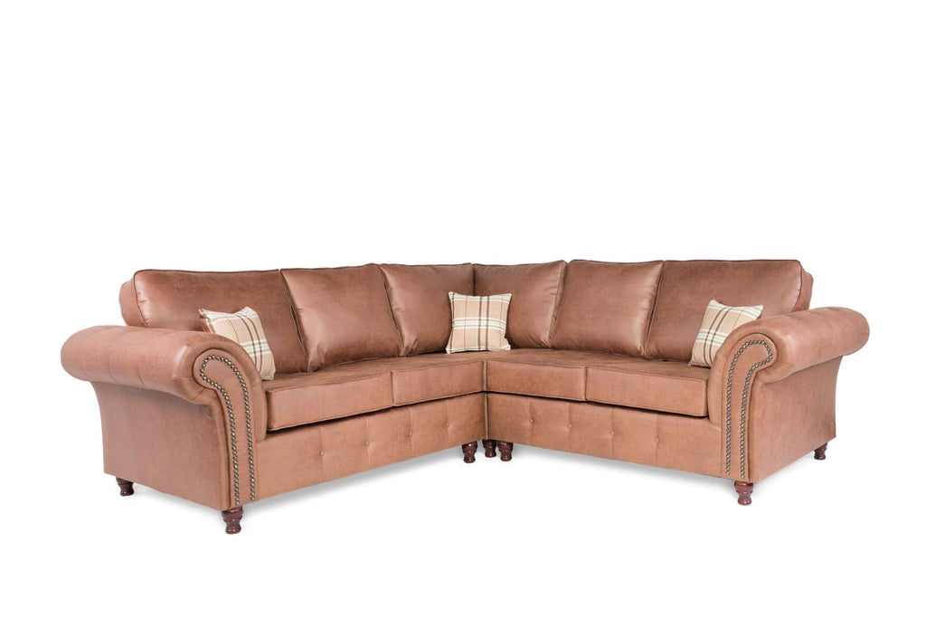 Oakland Corner 2C2 Sofa Tan